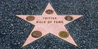 Twitter Walk of Fame star