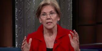 Elizabeth Warren calls out Trump for attacking Sen. Kirsten Gillibrand.