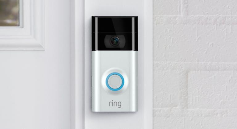 Ring Video Doorbell - smart lock