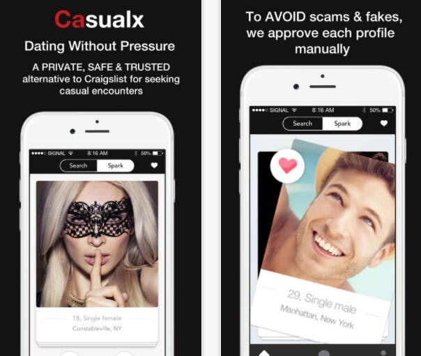 hookup apps: CasualX