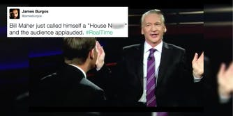 Bill Maher saying the n-word on 'Real Time with Bill Maher'