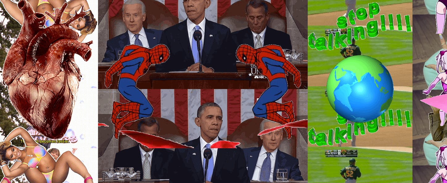 President Obama really might be Spiderman, a crazy person reads into a screenshot from Internetfert.net