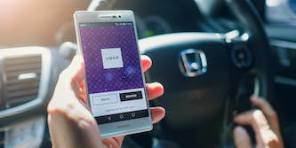 uber ride-hailing smartphone app android