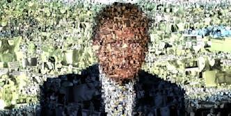 Trump mosaic