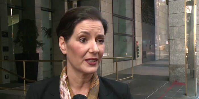 Oakland Mayor Libby Schaaf responds to President Donald Trump calling her actions 'a disgrace.'