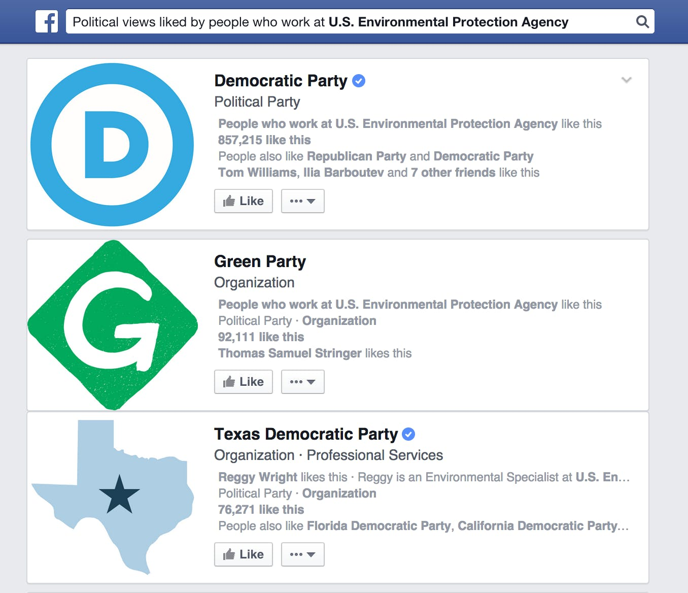 Facebook EPA