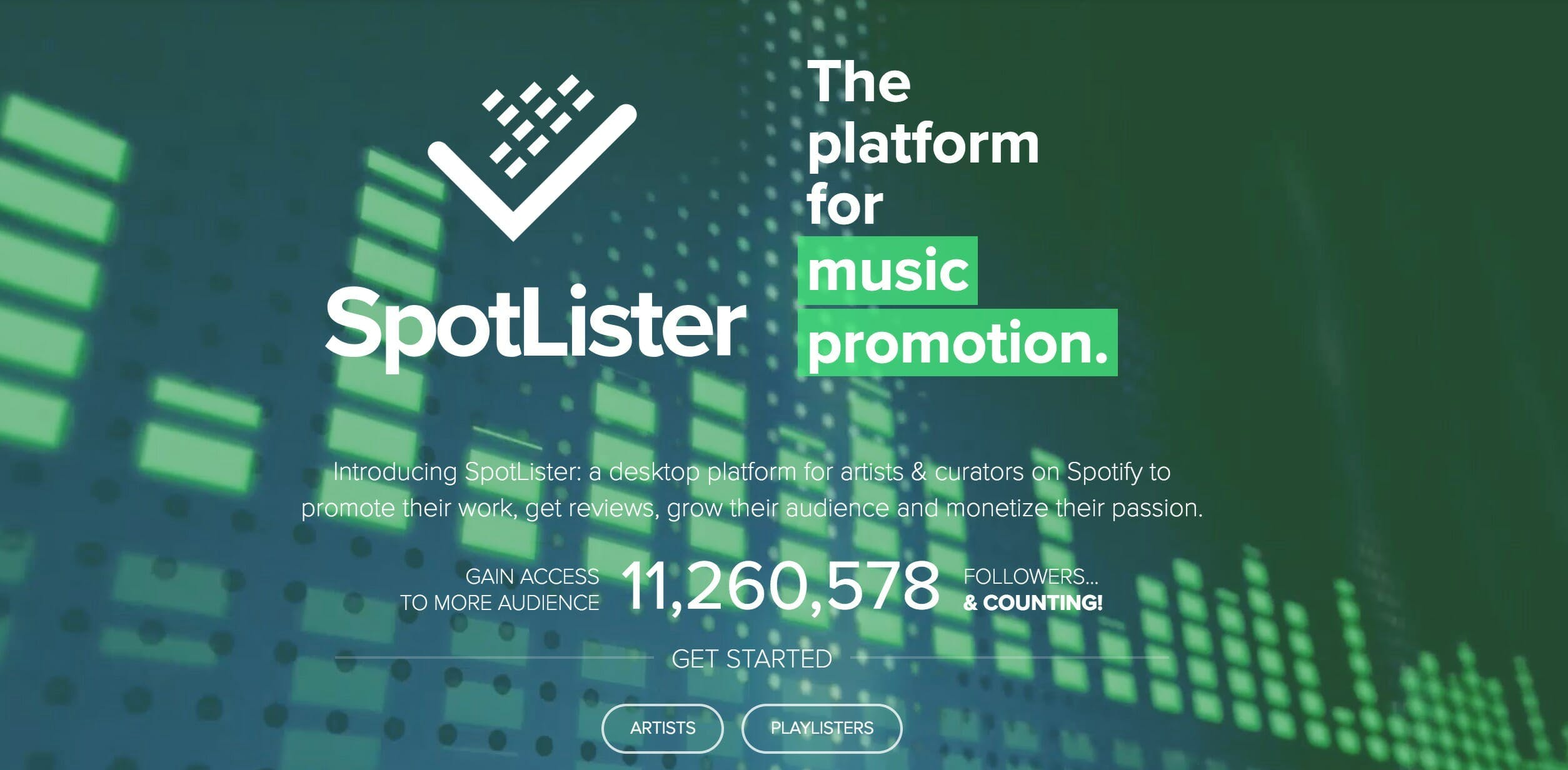 how to buy Spotify followers - SpotLister
