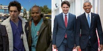 Scrubs, Justin Trudeau, President Obama