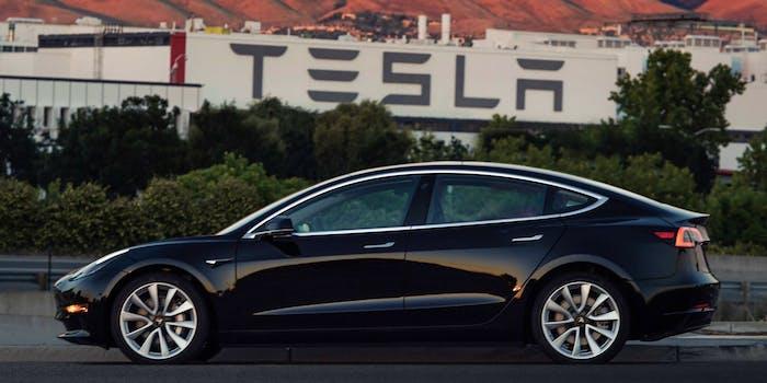 Tesla Model 3 Elon Musk tweets photos