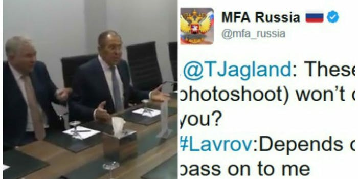 Sergey Lavrov makes fun of Donald Trump