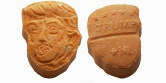 Donald Trump ecstasy pills