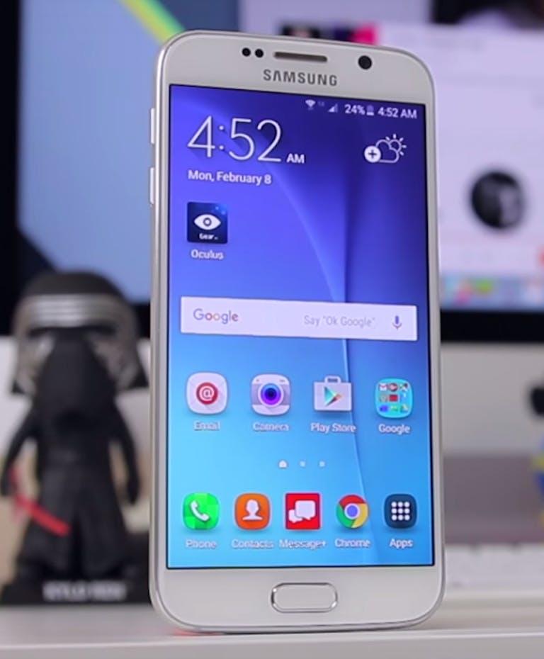 cheap smartphones : samsung galaxy s6 flagship smartphone
