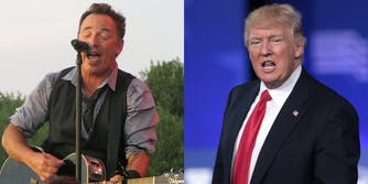 Bruce Springsteen and Donald Trump