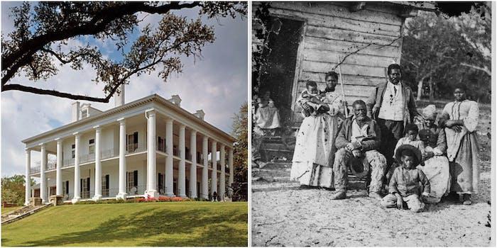 whitewash slavery slaveholder plantation ancestry.com genealogy