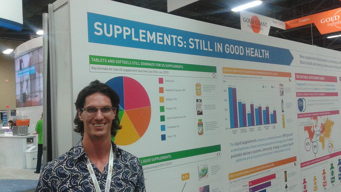 Nate sells supplements