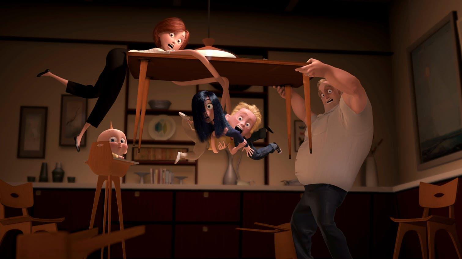pixar trivia : the incredibles