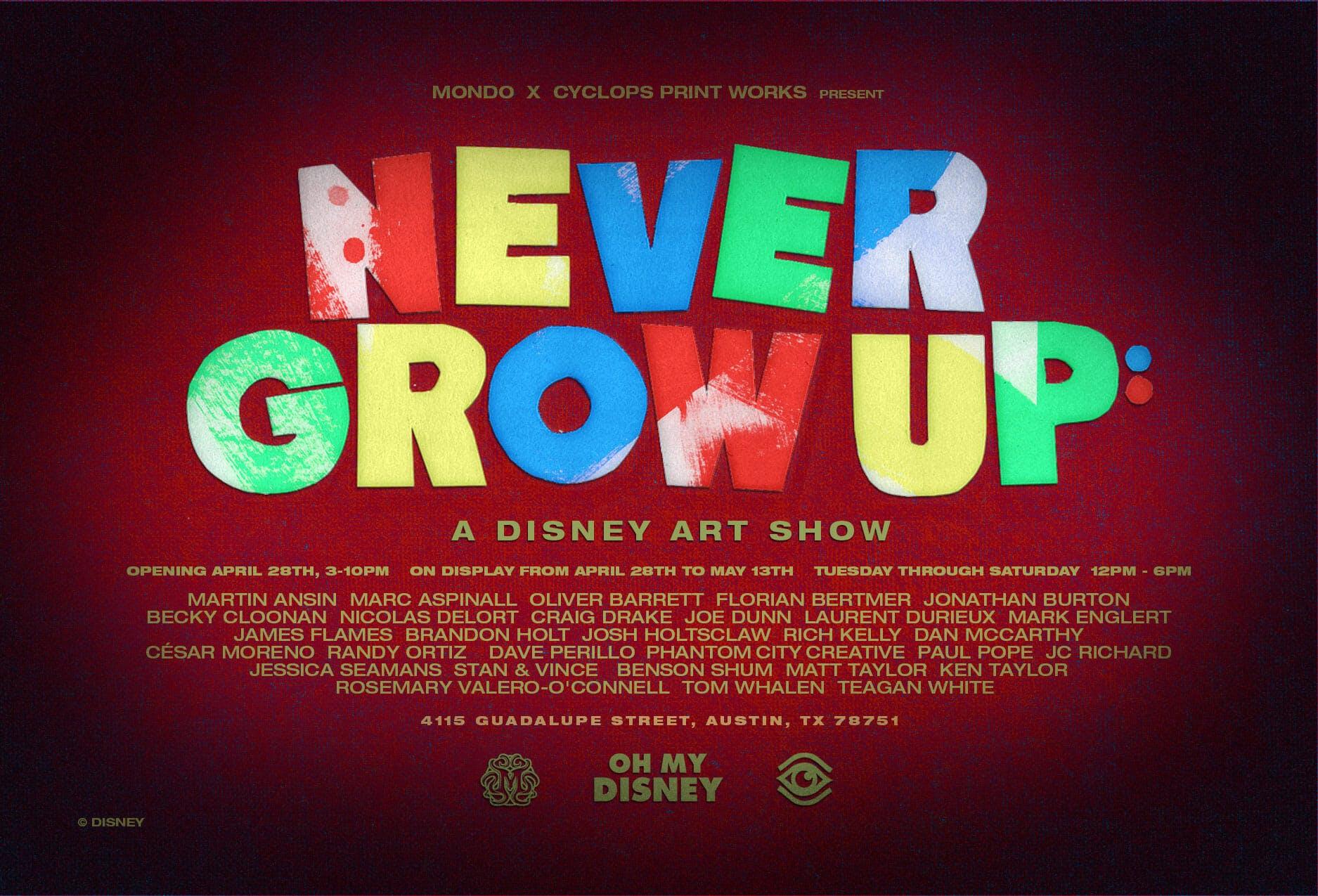 Mondo Gallery Disney Show