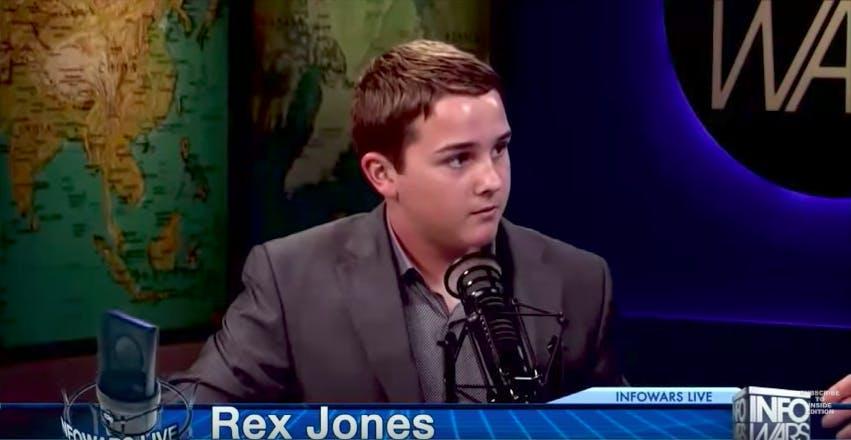 alex jones children : rex jones