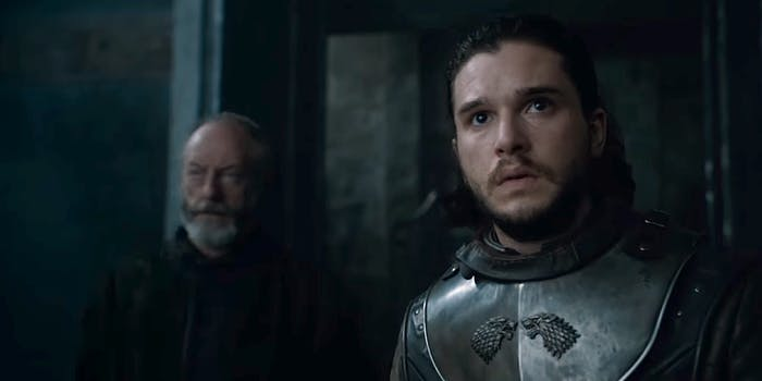Ser Davos and Jon Snow, Game of Thrones