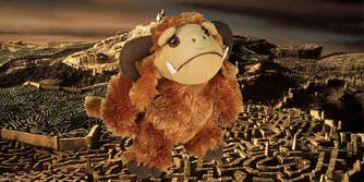 Ludo plush toy from the movie Labyrinth