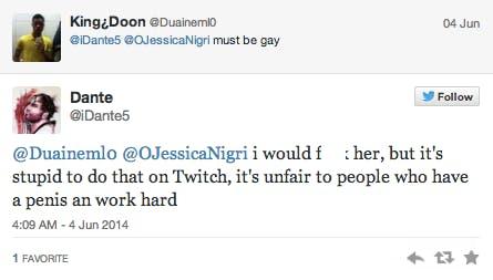 Jessica Nigri Gamer Girls Geeks Sexism Twitter Trolls