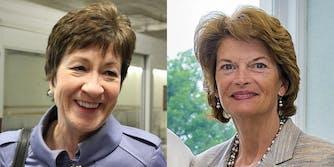 Susan Collins and Lisa Murkowski