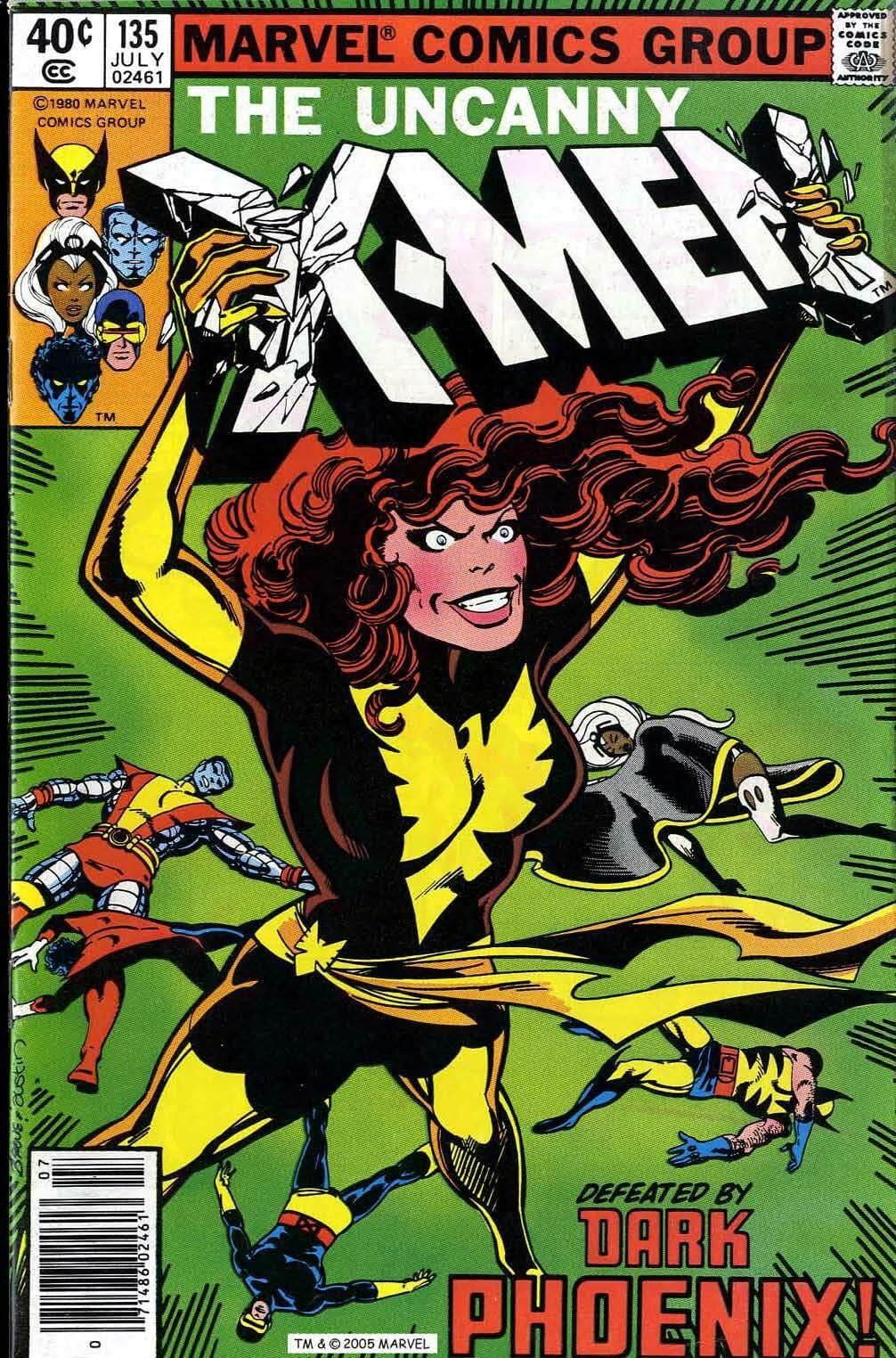 x-men dark phoenix saga