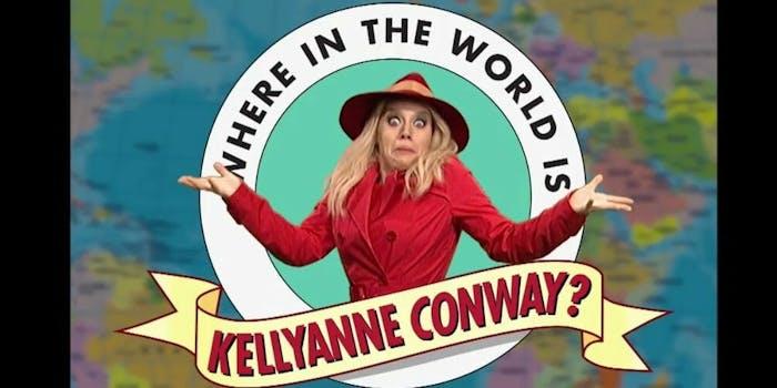 Kellyanne Conway Carmen Sandiego SNL