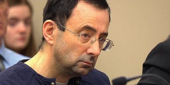 Larry Nassar at sentencing