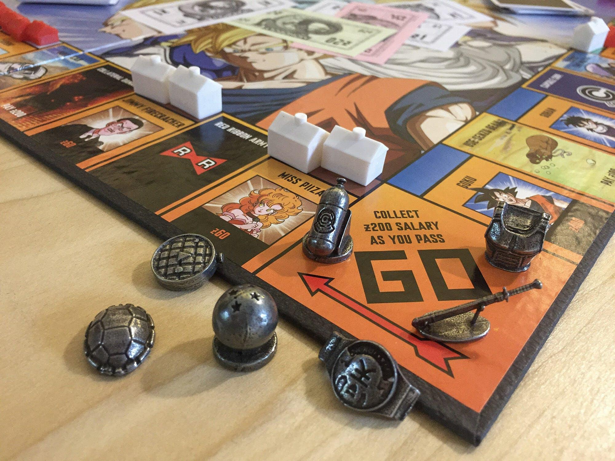 dragon ball z monopoly 3