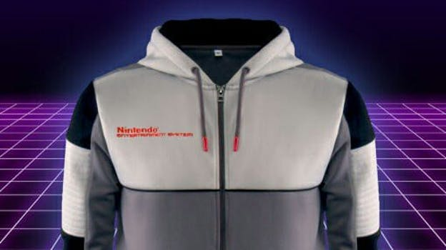 nes classic hoodie