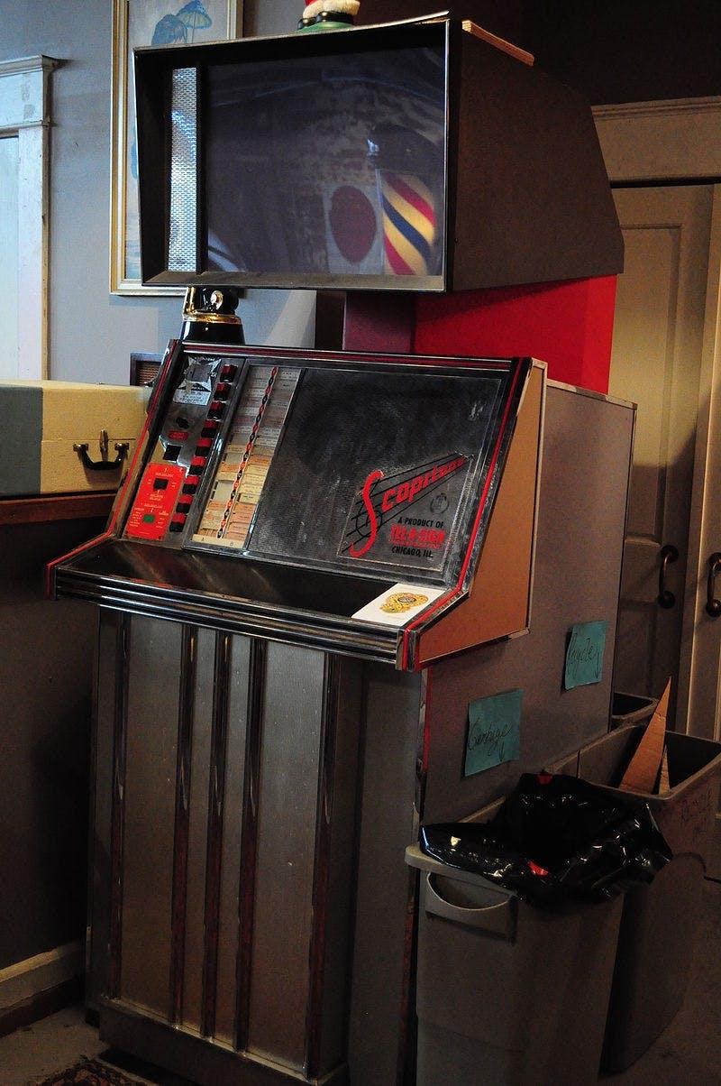 A Scopitone jukebox