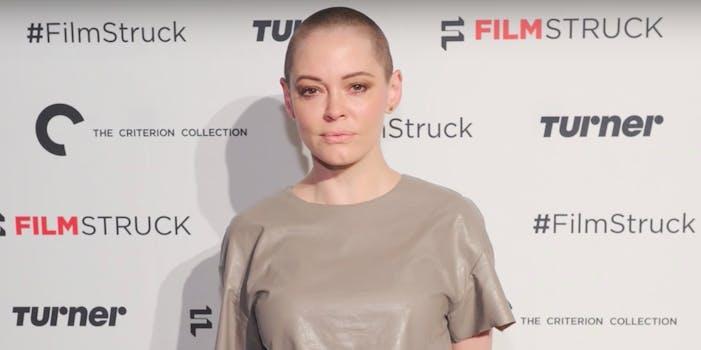Rose McGowan calls Ben Affleck out for post about Harvey Weinstein.