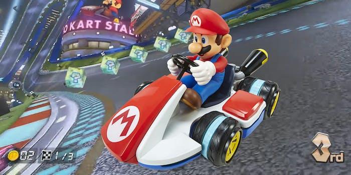 Mariokart mini RC racer