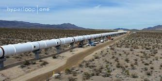 hyperloop one progress