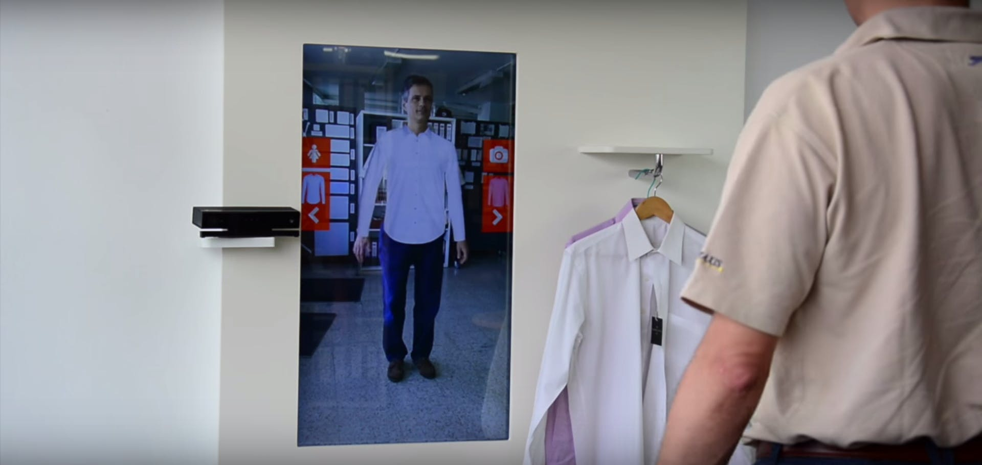 what is augmented reality: ar use rfid try on clothing