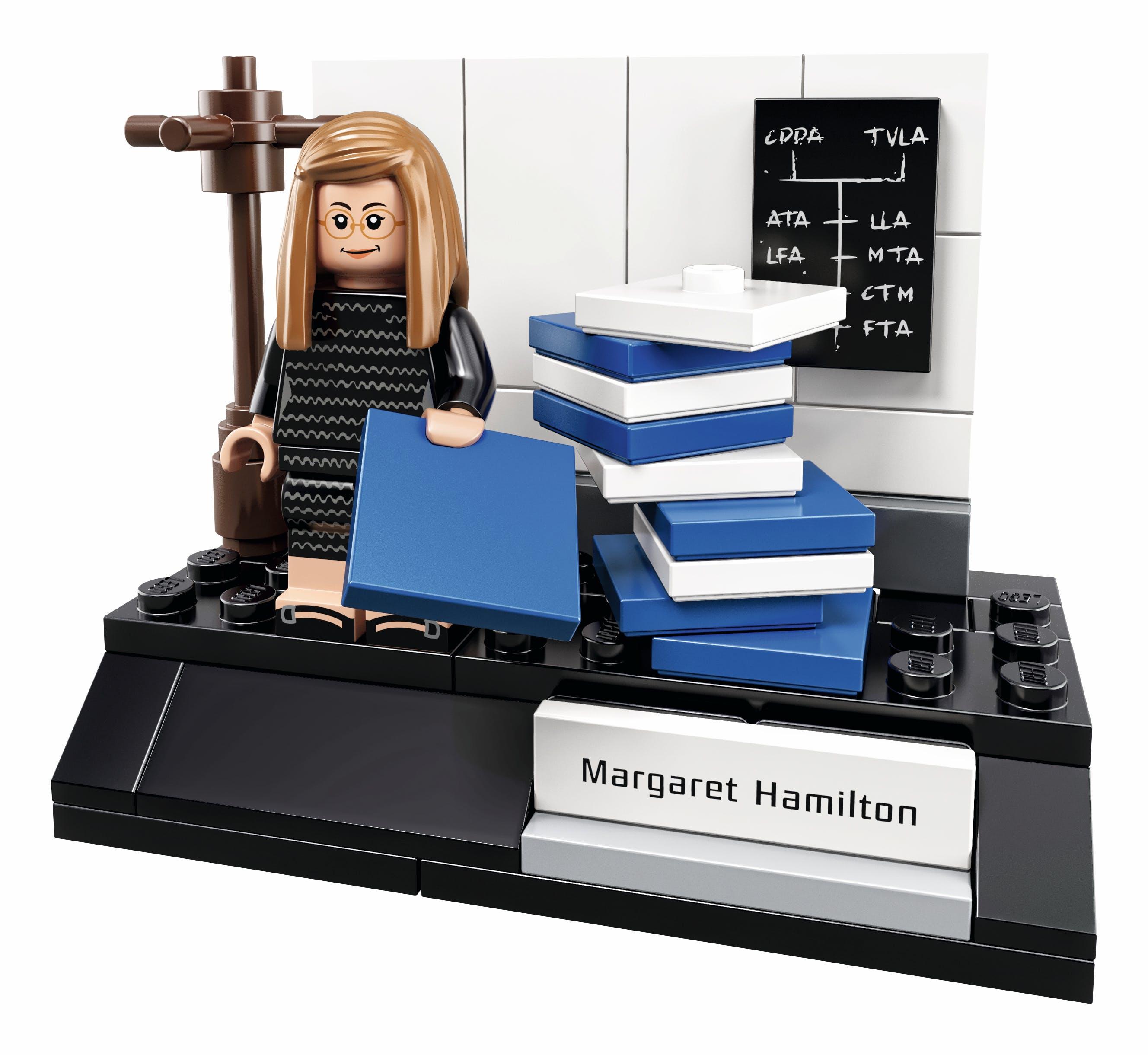 Part of the Women of Nasa Lego Set