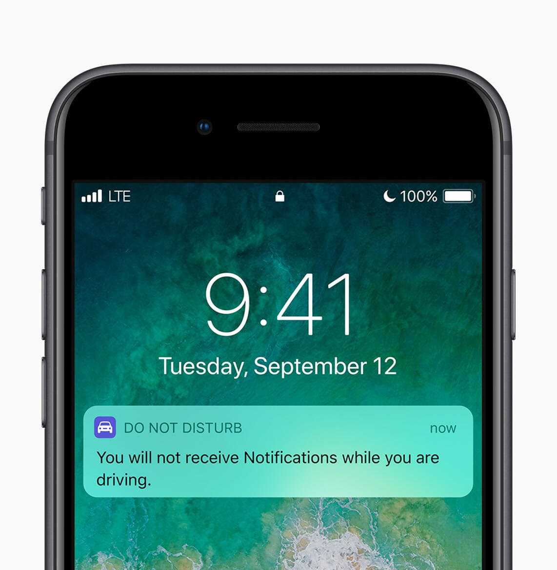 ios 11 features : Do Not Disturb while driving screen grab