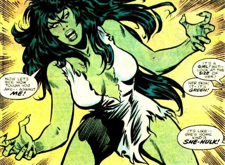 marvel female superheroes : She-Hulk