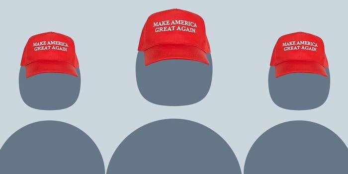 Trump fake Twitter army