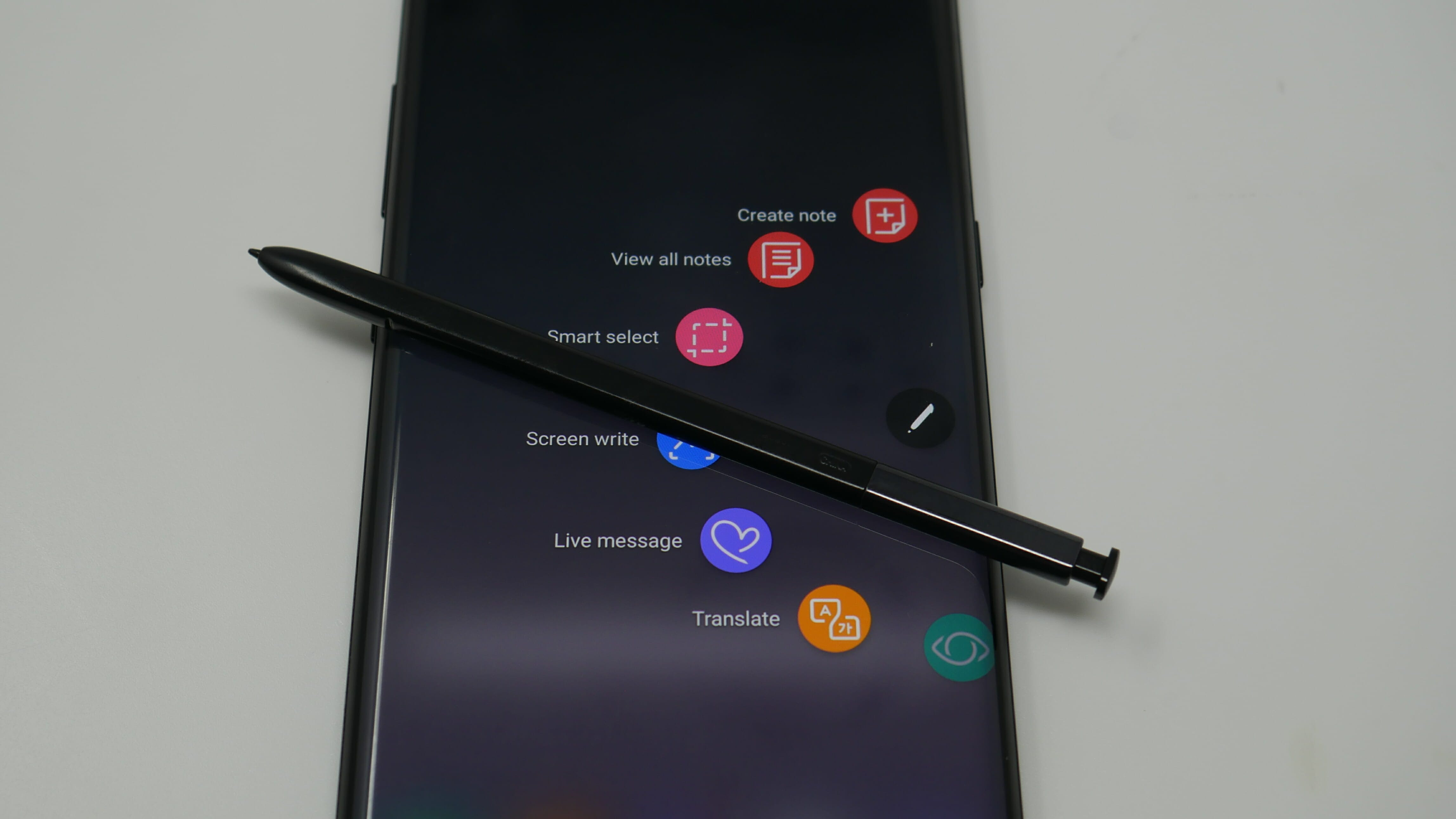 samsung galaxy note 8 s pen features