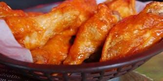 Chicken wings Sanderson Farms NFL