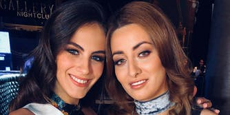 Miss Iraq and Miss Israel