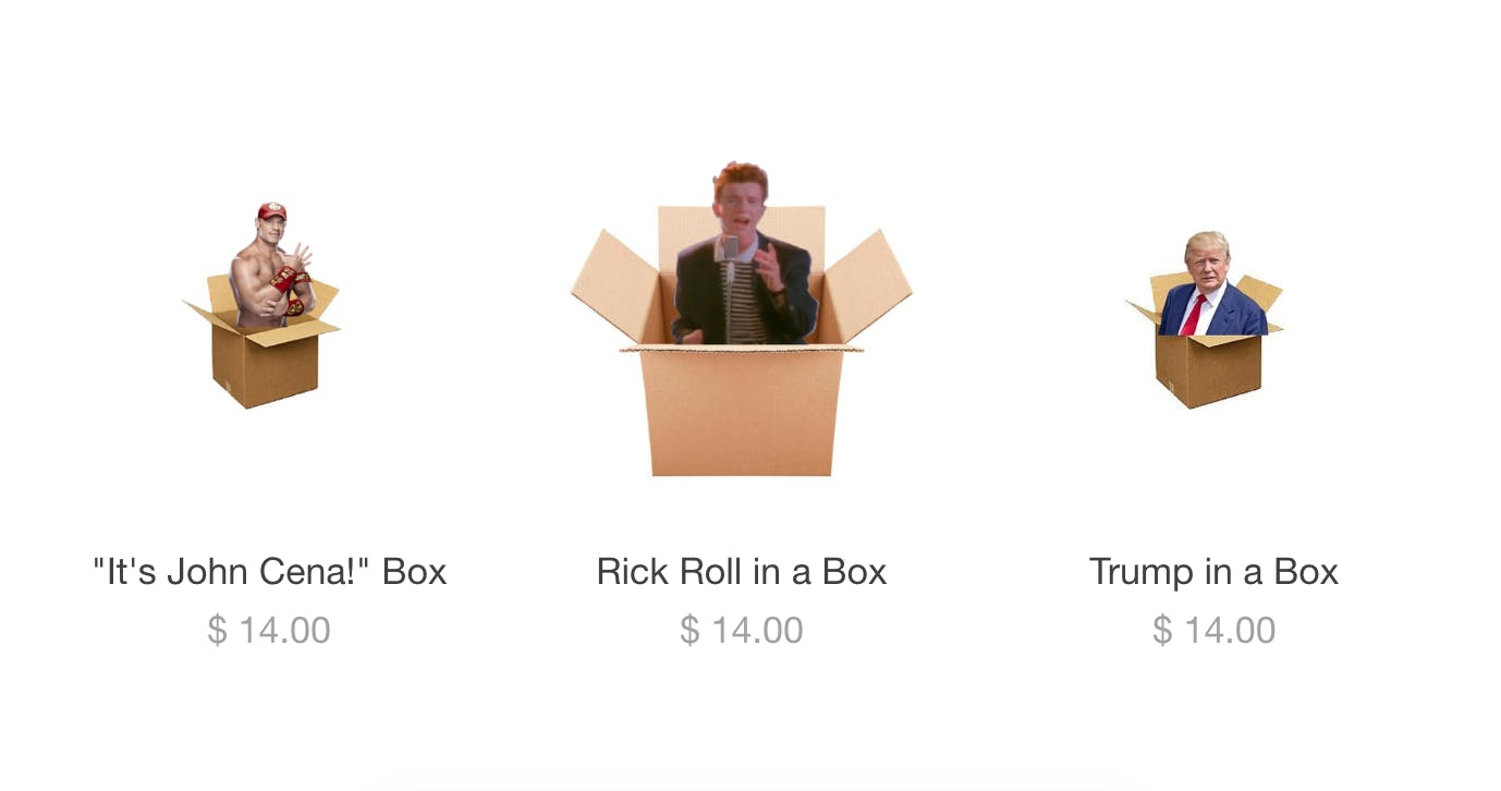 RickRoll by Mail