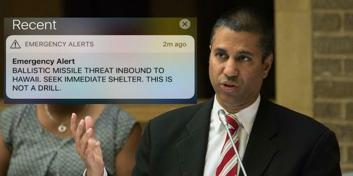 ajit pai fcc chairman hawaii alert