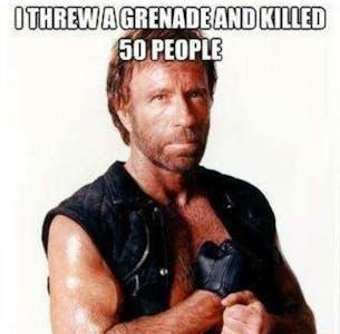 Chuck Norris grenade