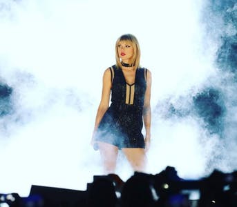 most loved celebrities on facebook : taylor swift