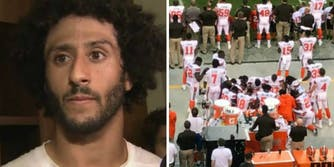 Colin Kaepernick Cleveland Brown players protesting social justice