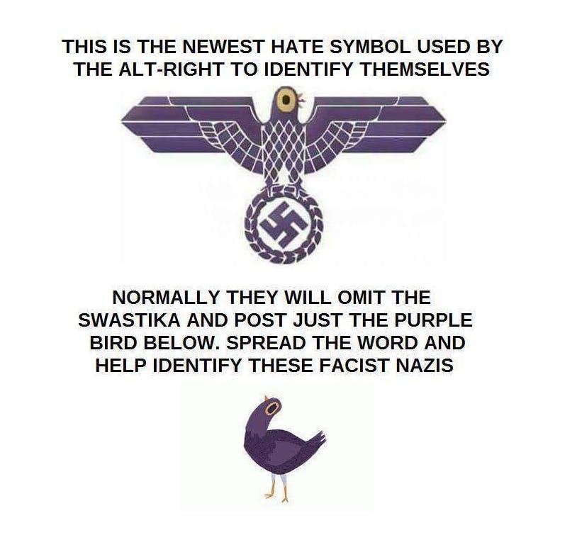 Is Trash Dove a Nazi?
