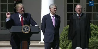 with Donald Trump. Justice Neil Gorsuch has a complicated history with LGBTQ issues